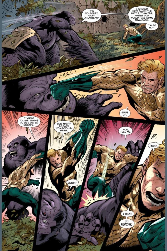 aquaman vs gorilla grodd