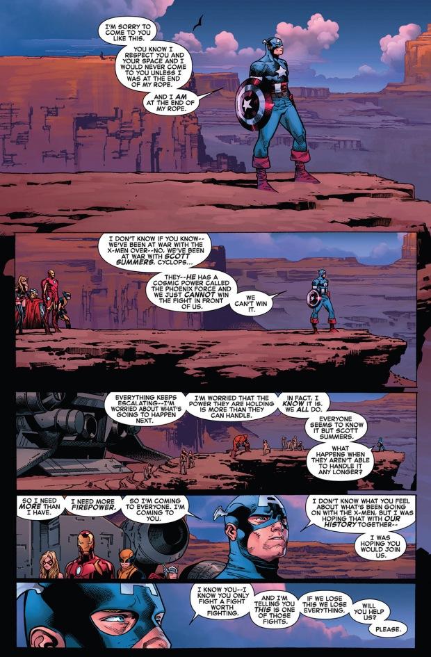 captain america recruits the hulk