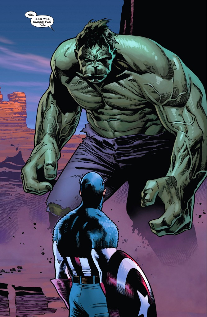 captain america recruits the hulk