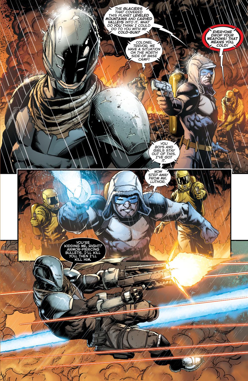 Captain Cold VS Bullet Comicnewbies