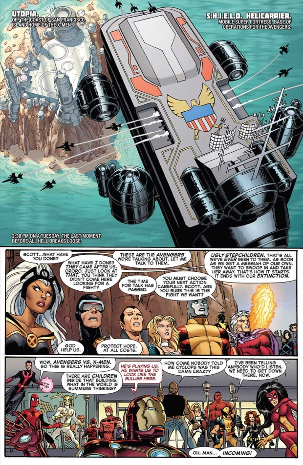 colossus crashes a helicarrier