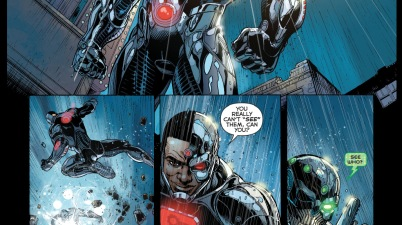 cyborg and the metal men vs grid