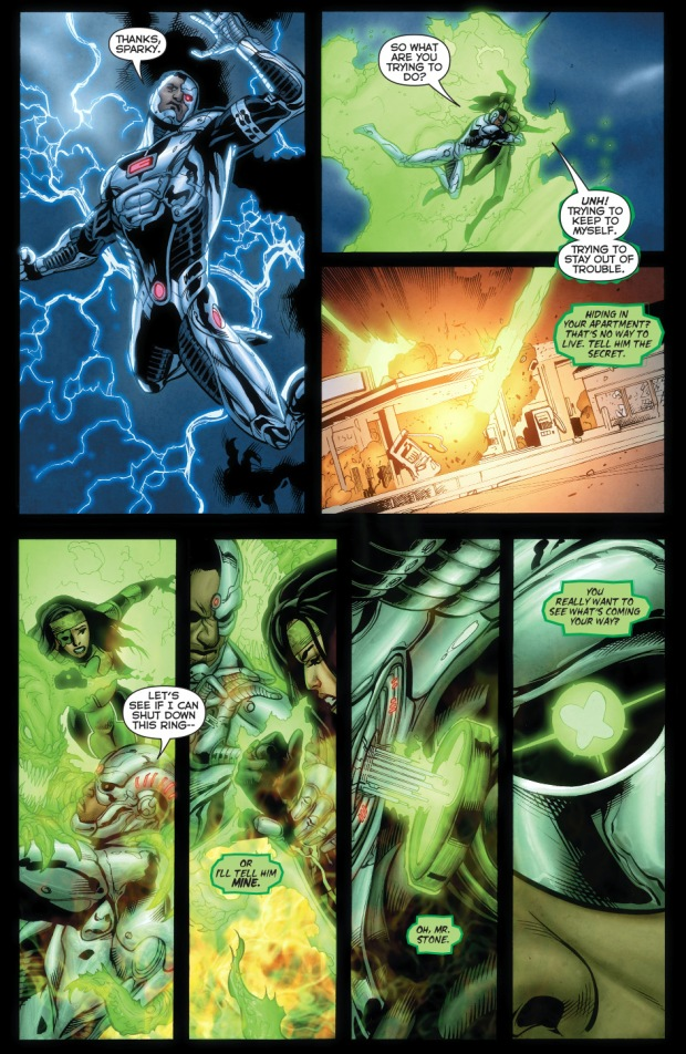 cyborg learn power ring's secret