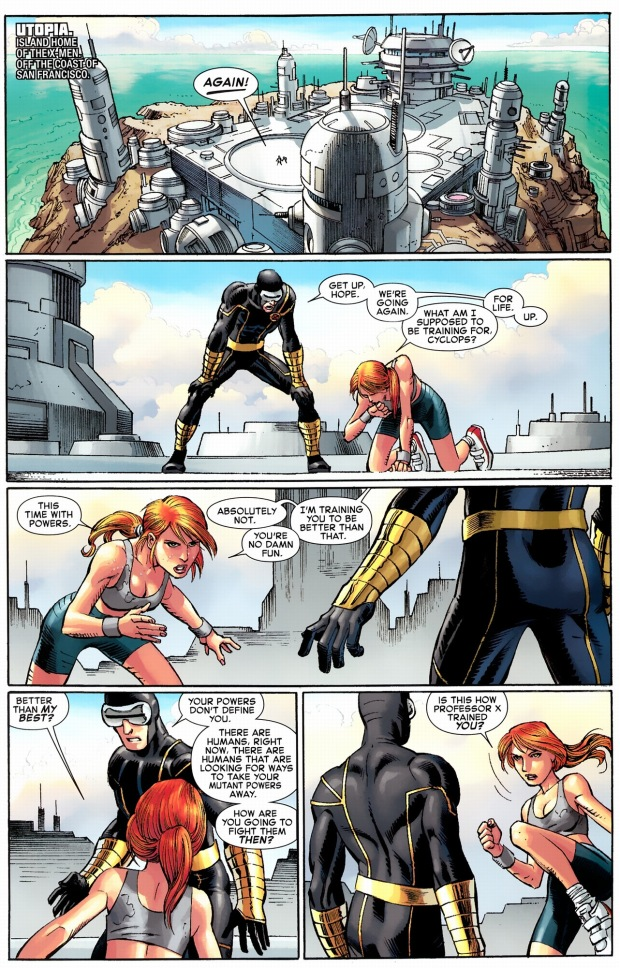cyclops training hope summers