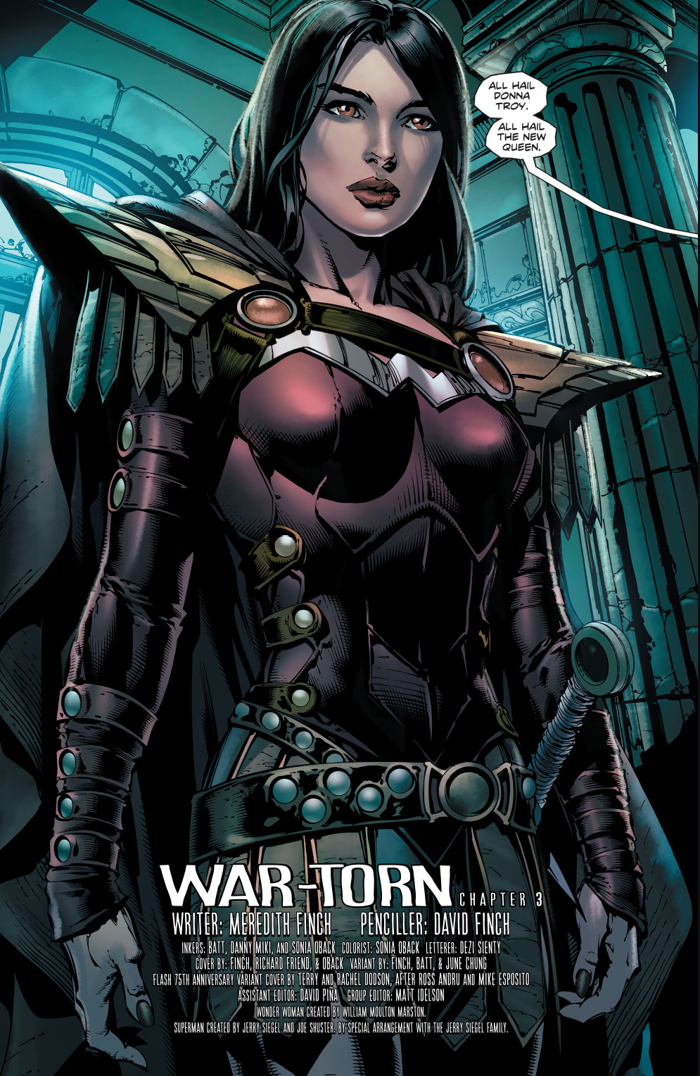 Donna Troy As Queen Of The Amazons  Comicnewbies-5122