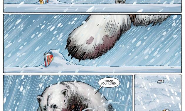 how wolverine survived antartica
