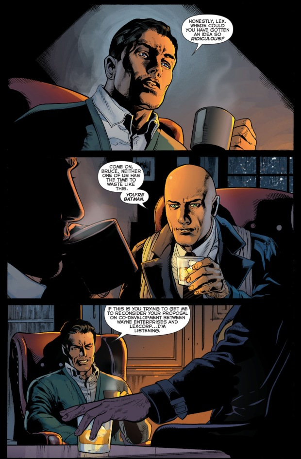 lex luthor tries to make bruce wayne admit he's batman