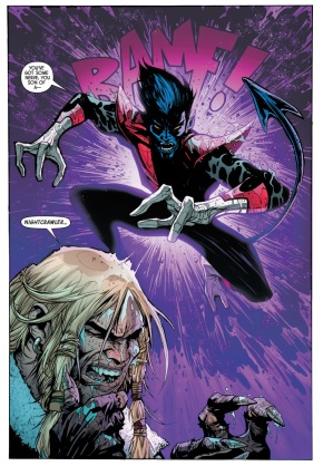 sabretooth vs nightcrawler