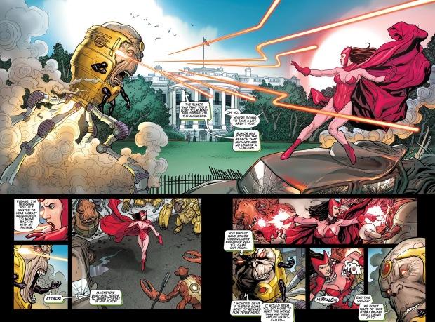 X Men Scarlet Vs Witch Marvel