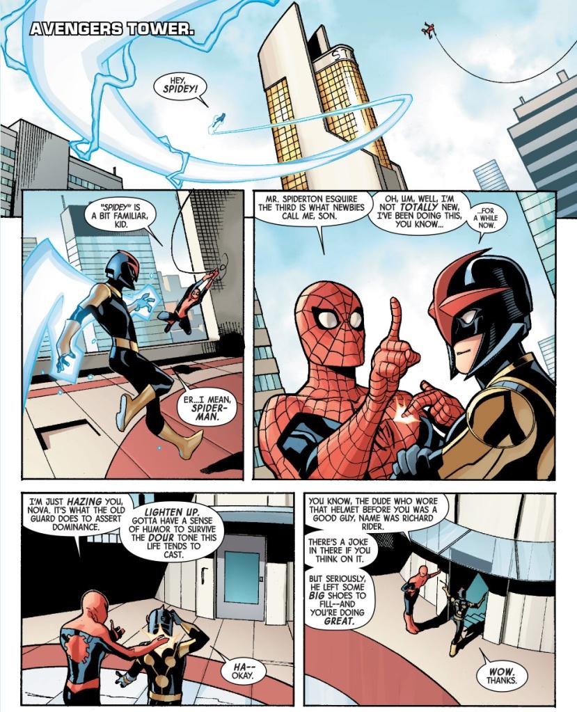 spider-man hazes nova