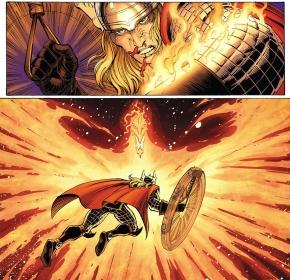 thor vs the phoenix