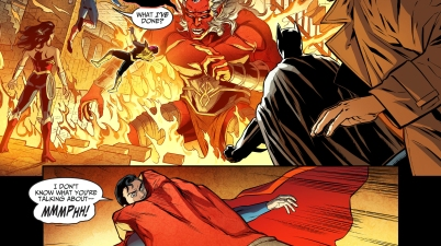 trigon attacks superman's team