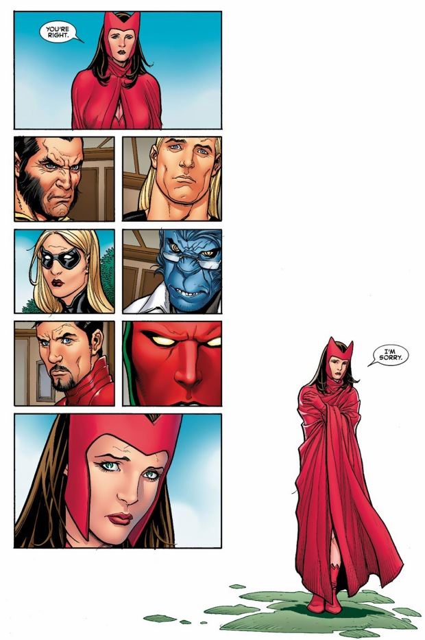 vision sends the scarlett witch away
