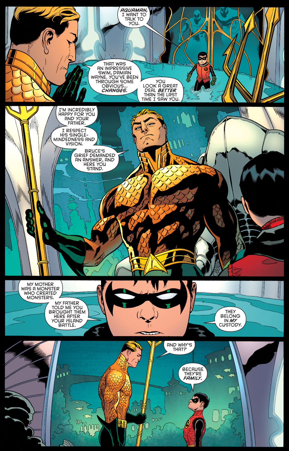 My songs know what you did in the dark... - Damian Wayne What-robin-asked-from-aquaman-2