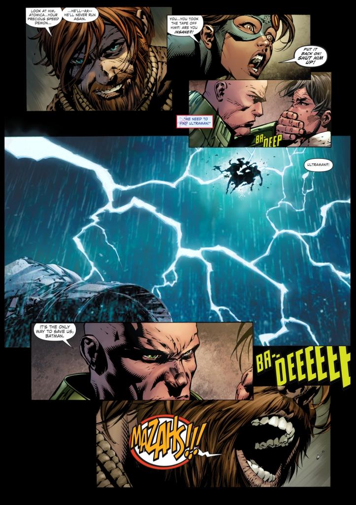 alexander luthor turns into mazahs