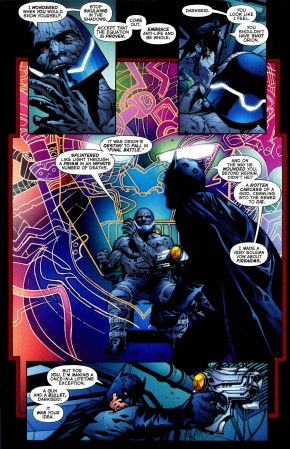batman shoots darkseid
