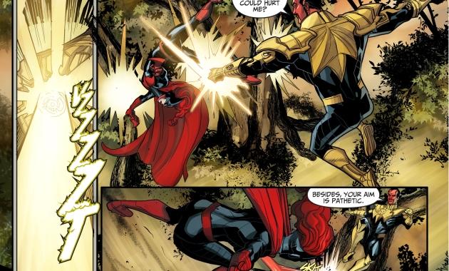 batwoman vs sinestro