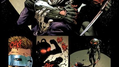 black manta kills the outsider