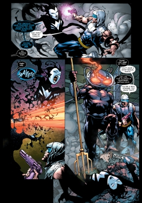 black manta takes out shadow thief