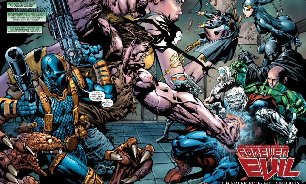 crime syndicate hires deathstroke