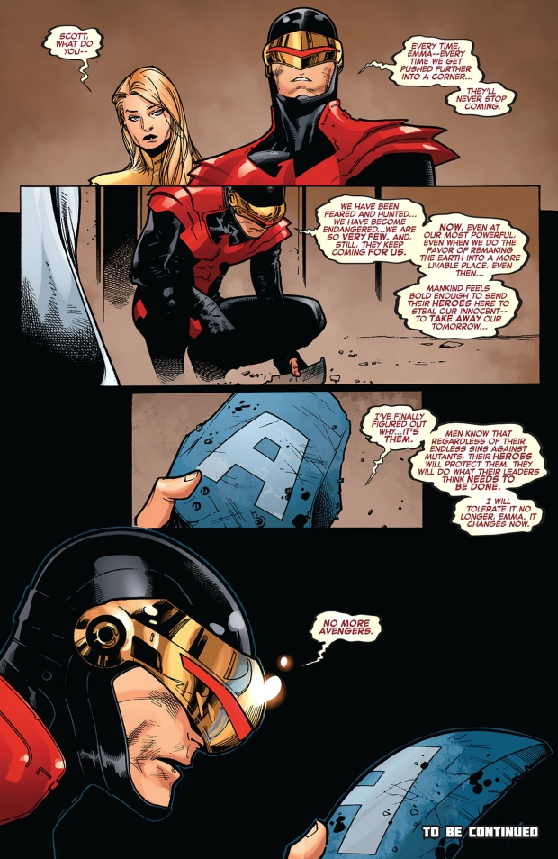cyclops declares no more avengers