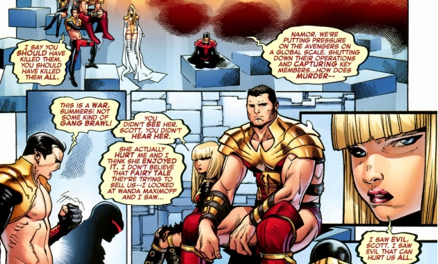 cyclops scolds the other phoenix 5