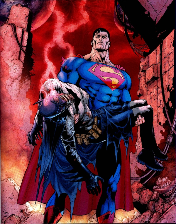 death of superman batman -#main