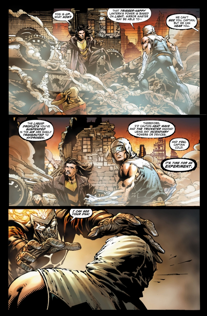 deathstorm removes captain cold's powers