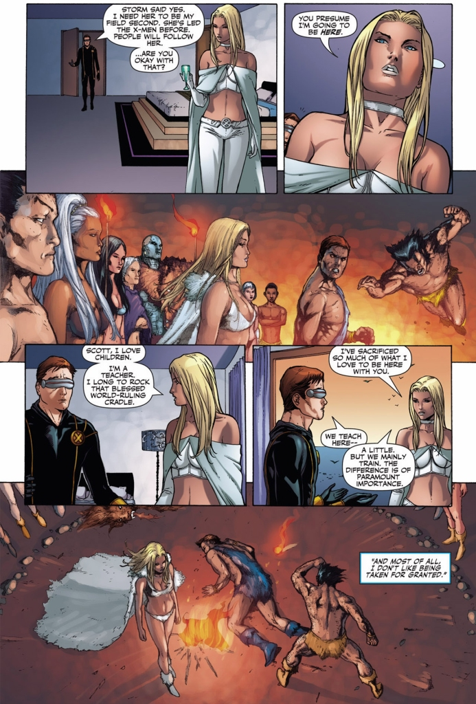 how cyclops got emma frost to stay in utopia