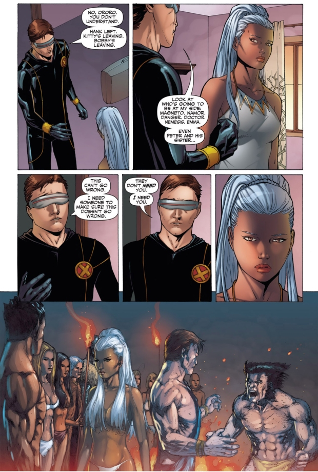 how cyclops got storm to stay in utopia