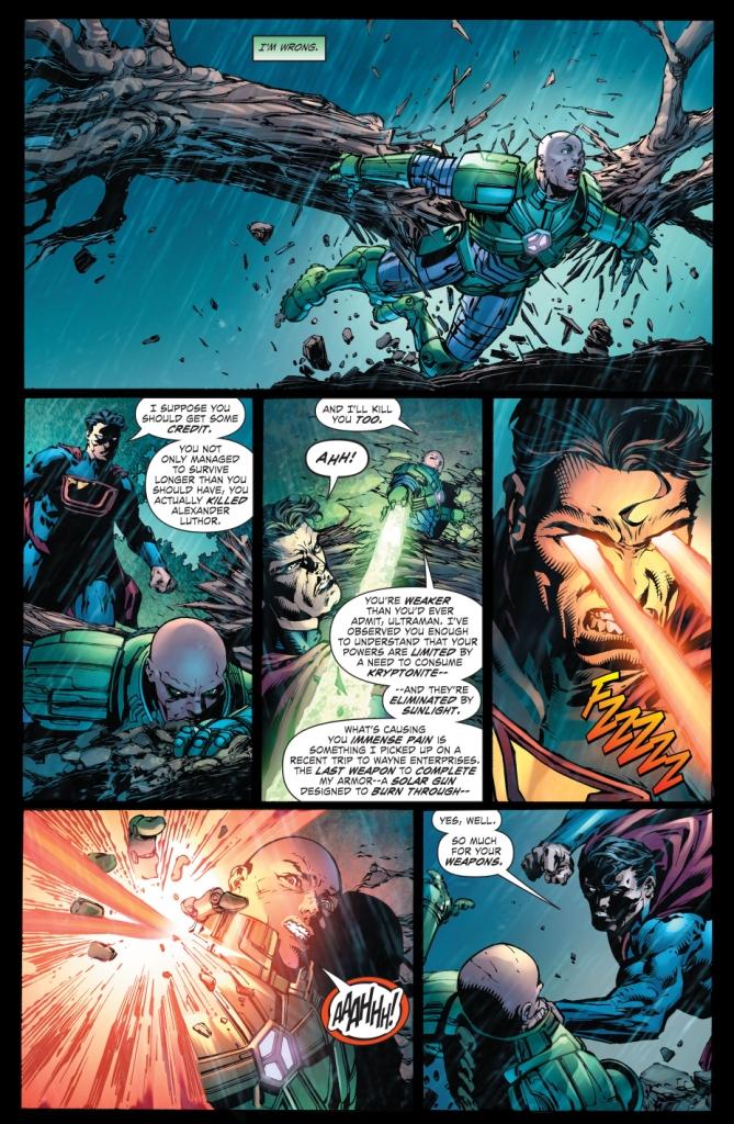 how lex luthor defeated ultraman