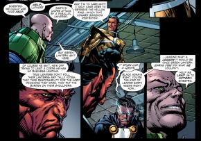 how lex luthor recruited sinestro