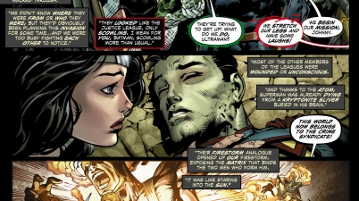 how the crime syndicate trapped the 3 justice leagues