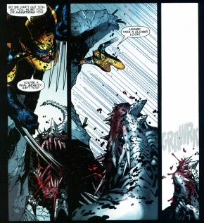 how wolverine took down a predator x
