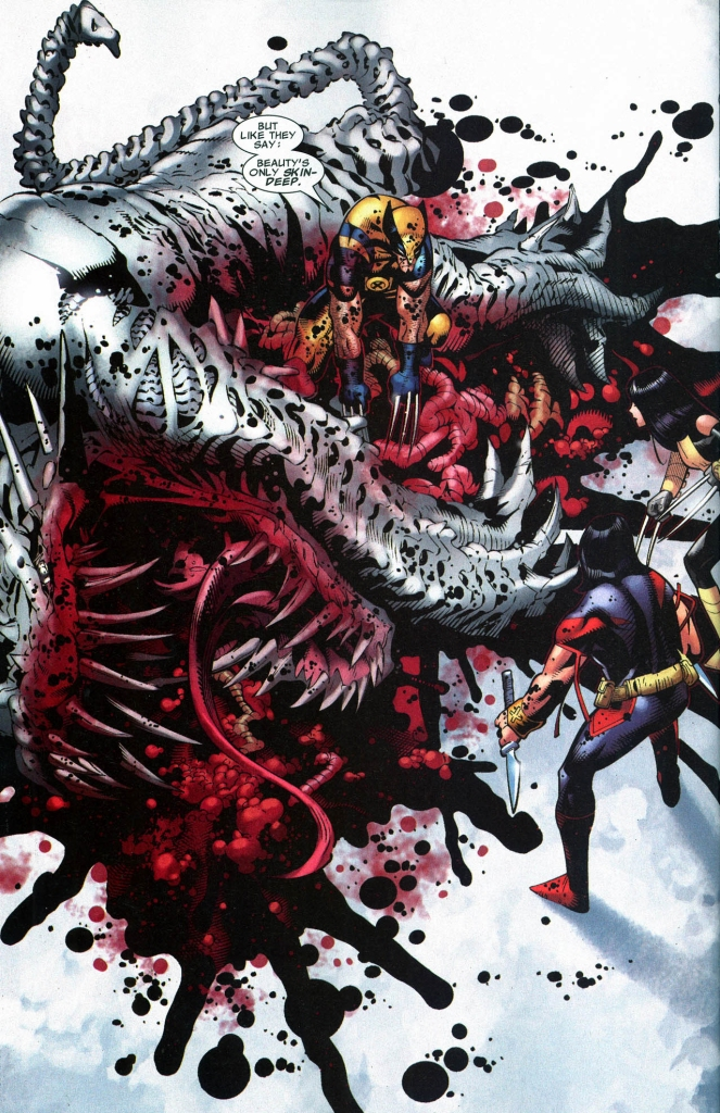 how wolverine took down a predator x
