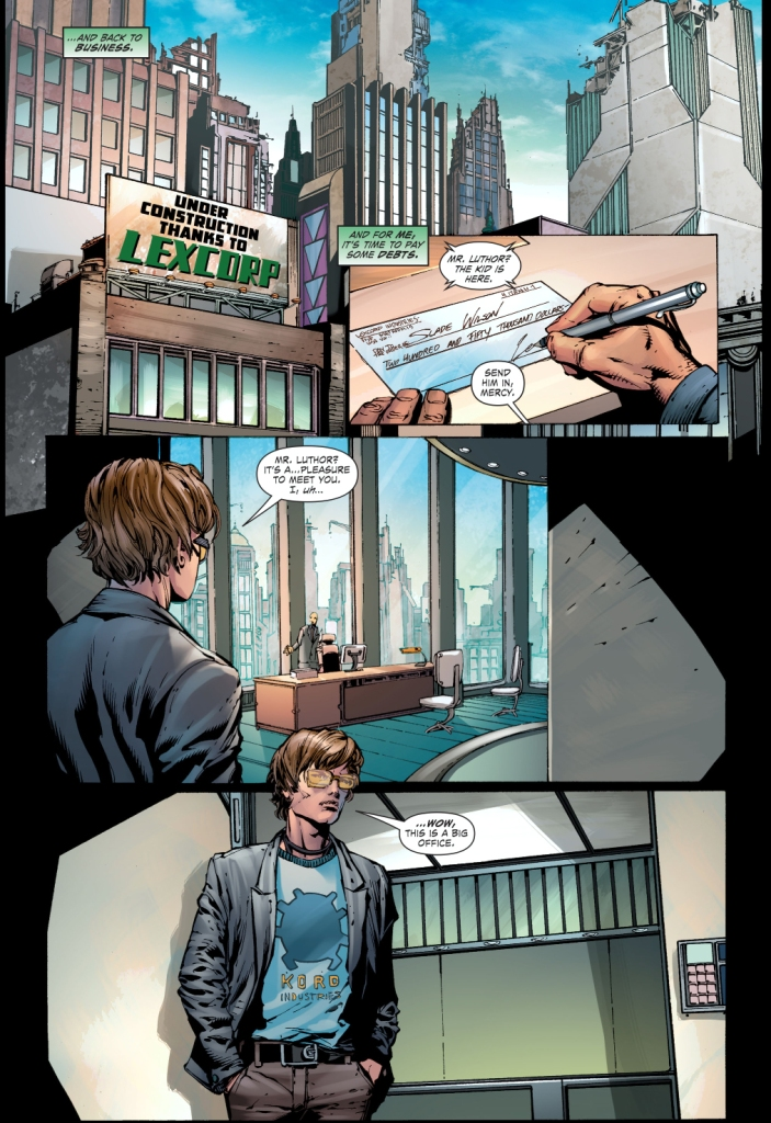 lex luthor meets ted kord
