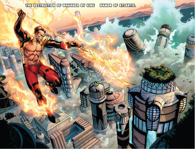 phoenix five namor destroys wakanda