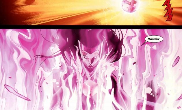 phoenix five namor vs the scarlett witch