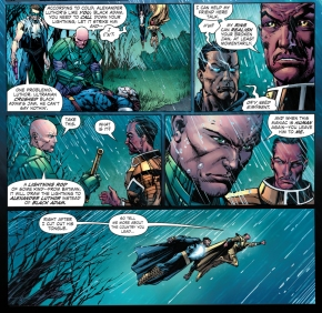 sinestro and black adam vs mazahs