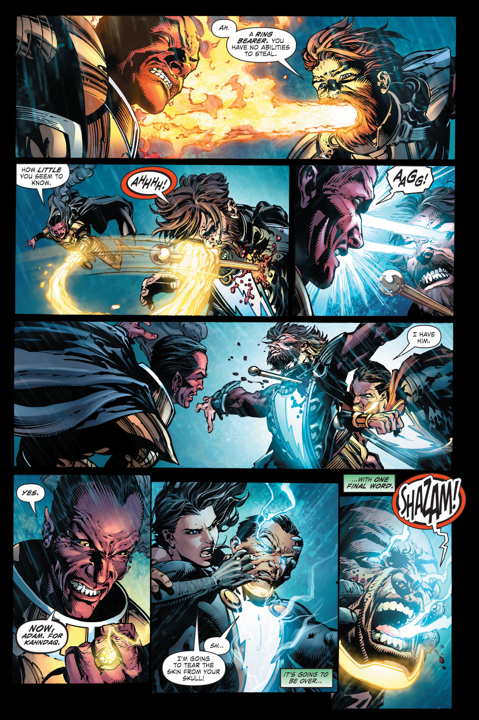X 23 Gambit Sinestro And Black Ada...