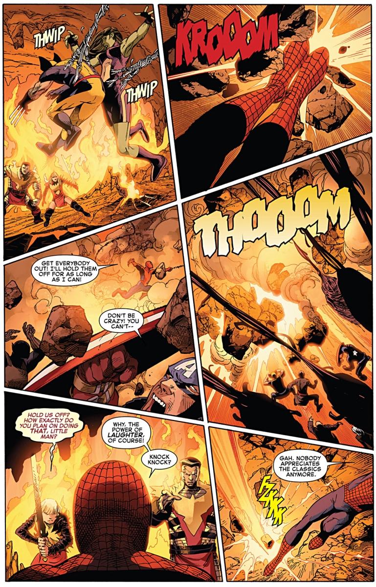 spiderman sacrifices himself comicnewbies