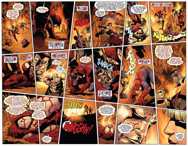 spider-man vs phoenix five colossus and magik
