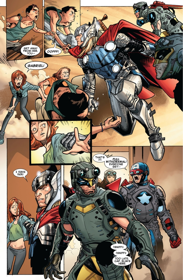 the avengers tries to abduct hope summers