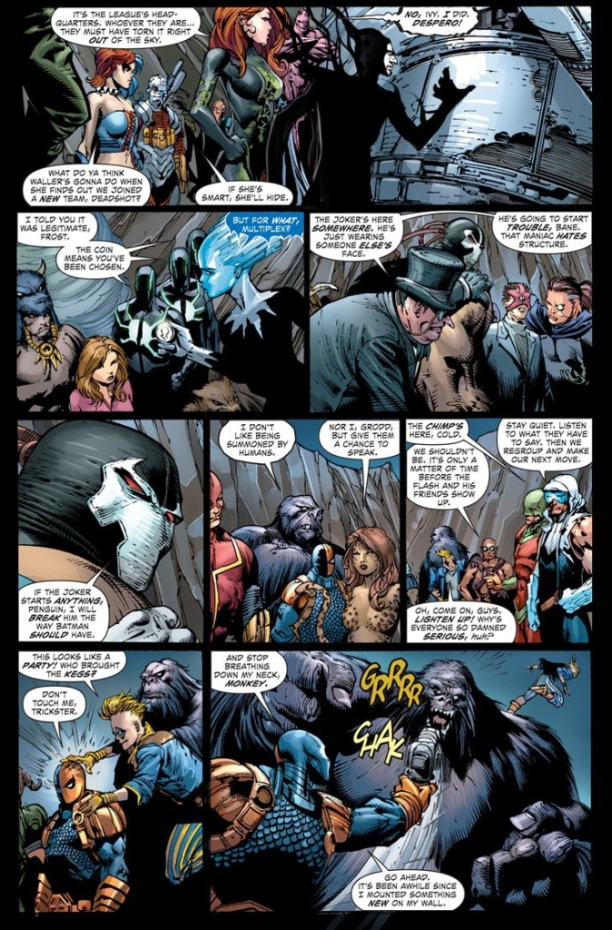 the crime syndicate gathers all super villains