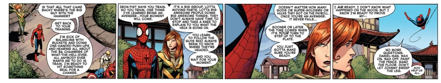 what it means to be an avenger according to spider-man