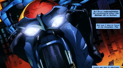 why nightwing didn't want to be batman