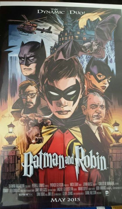 batman and robin (harry potter cover)