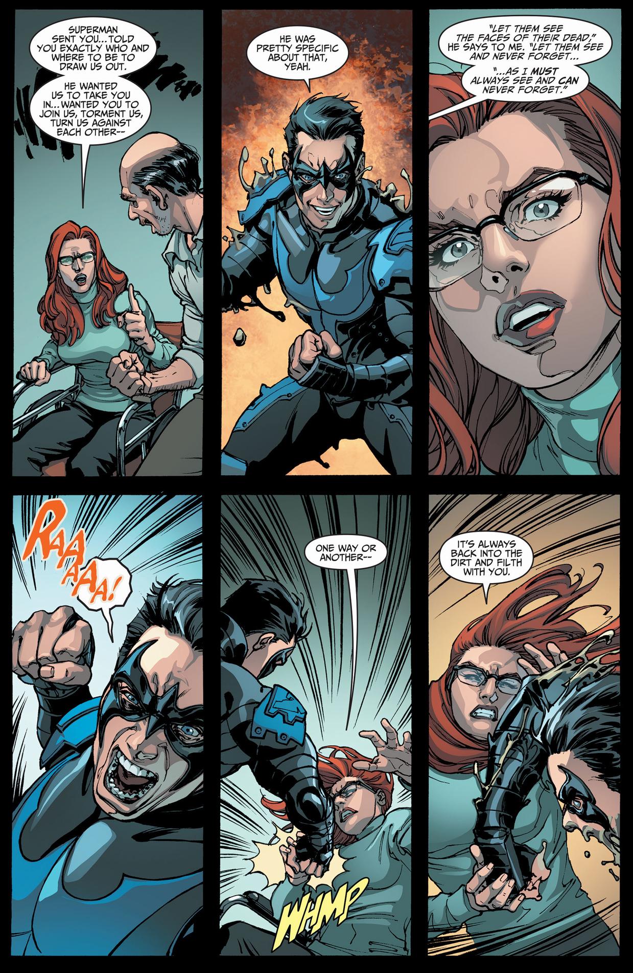 Nightwing | Comicnewbies | Page 2 Nightwing Injustice Comic