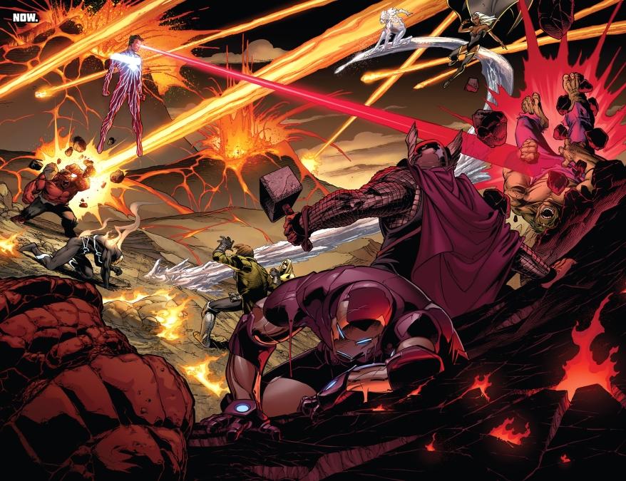 dark phoenix cyclops vs the avengers and x-men