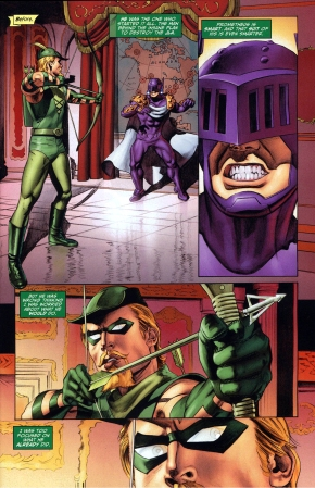 green arrow's reason for killing prometheus